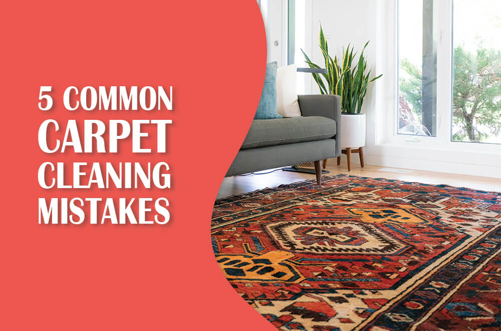 Do You Make These 5 Carpet Cleaning Mistakes?