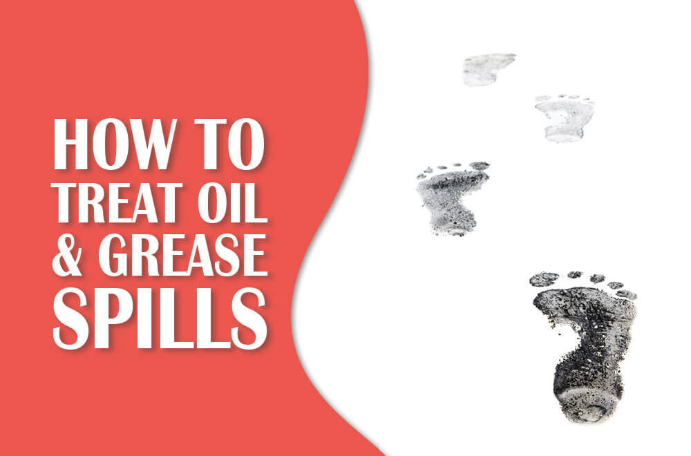 The Stains of a Mechanic: How to Treat Oil and Grease Spills