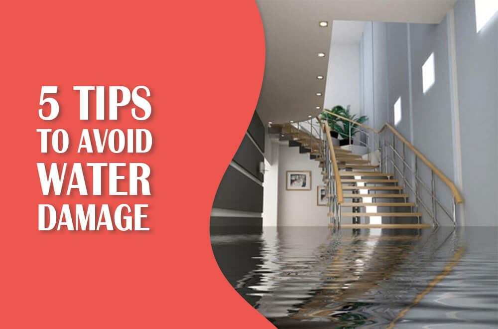 5 Preventative Tips to Avoid Water Damage in Your Home